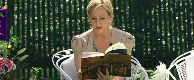 J.K.Rowling, author of Harry Potter
